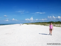 Wide white sand beaches