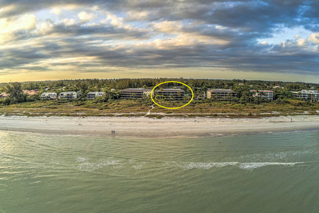 Sanddollar condos on Sanibel Island