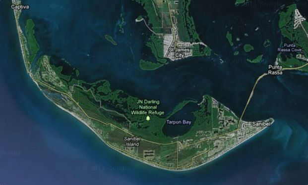 Satellite Images Reveal Sanibel's Difference